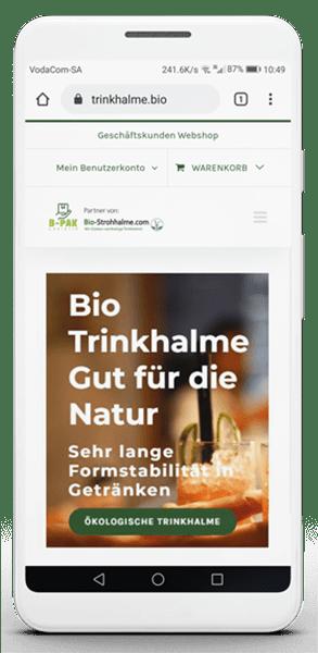 Trinkhalme Bio Straw Online Shop
